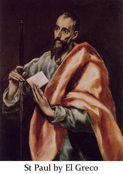 Saint Paul by El Greco